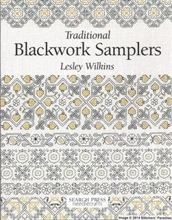 TRADITIONAL BLACKWORK SAMPLERS