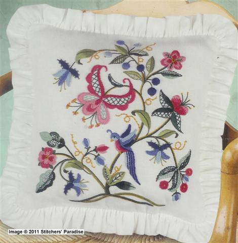 Stitchers' Paradise Crewel Embroidery Other Designers Impressive Crewel Embroidery Patterns