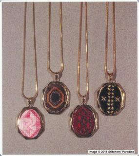 NEEDLEPOINT NECKLACES I