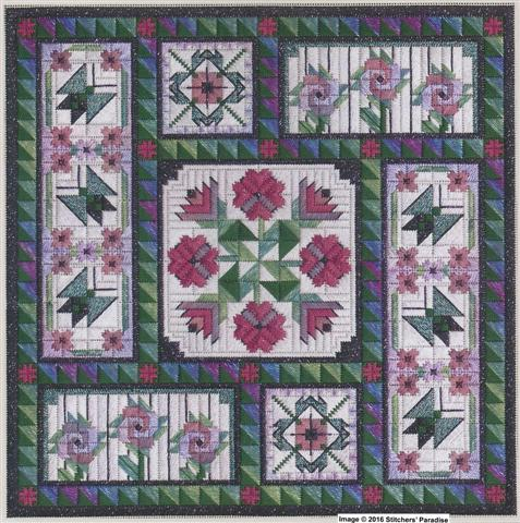Autumn Medley 10/% Off Nancys Needle-Counted Canvas chart
