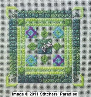 NEEDLEPOINT THINKING GREEN