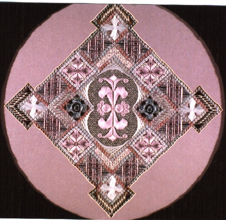 Stitchers39 Paradise  Canvas Embroidery  Jean Hilton Designs