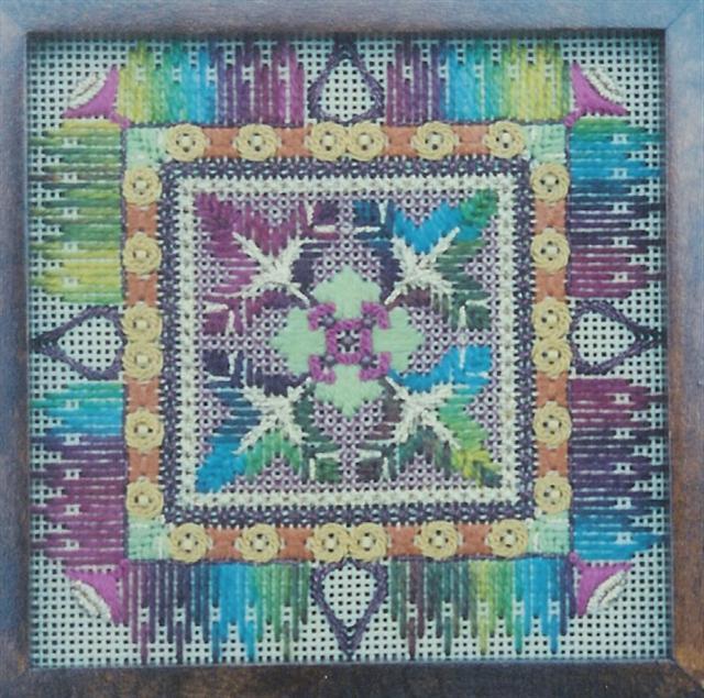 Stitchers39 Paradise  Canvas Embroidery  Kimberly Crum