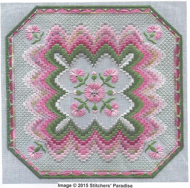 Stitchers Paradise Needlework Techniques Bargello Embroidery