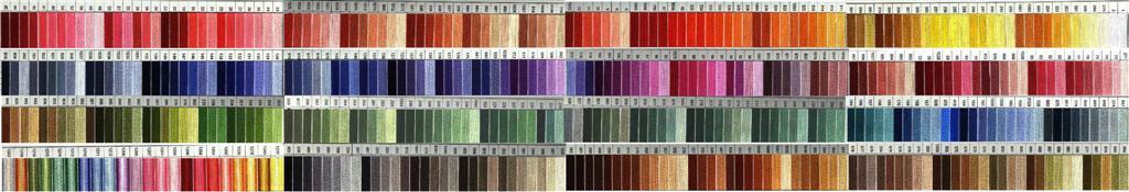 Stitchers Paradise Color Cards