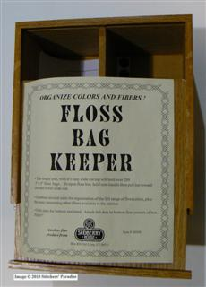 FLOSS BAG KEEPER - open