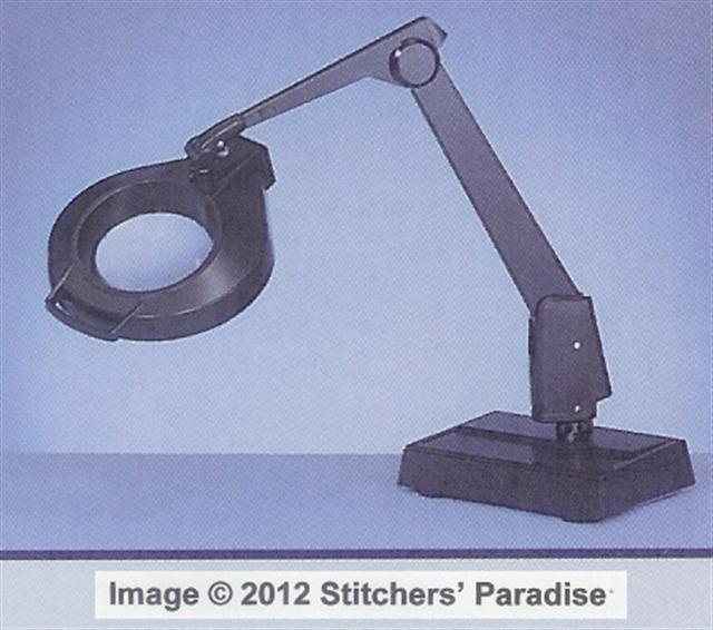 stitchers 39 paradise dazor lamps magnifiers. Black Bedroom Furniture Sets. Home Design Ideas