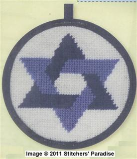 Alice Peterson Stitch-Up - Star of David
