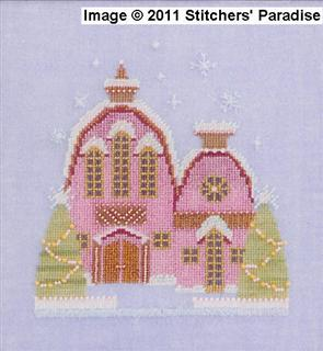Little Snowy Pink Cottage